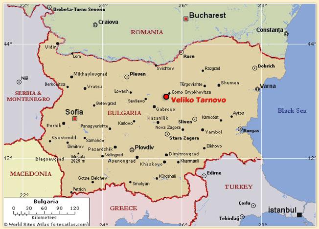 Велико Търново в България